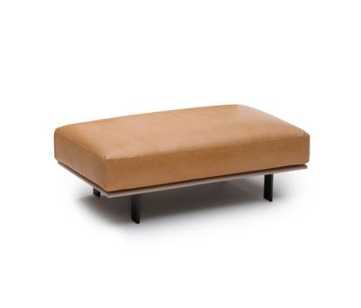 Recess footstool by Linteloo