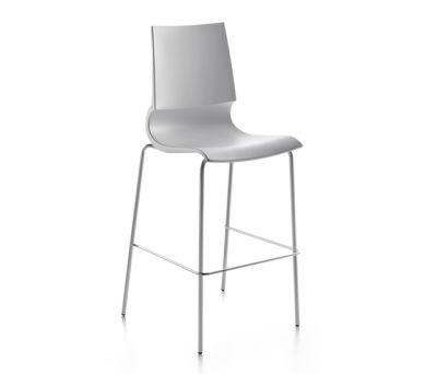 Ricciolina High stool polypropylene by Maxdesign