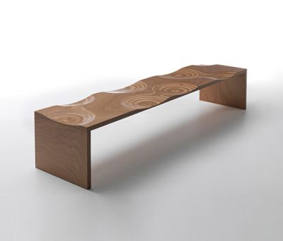 Ripples bench outdoor by HORM.IT