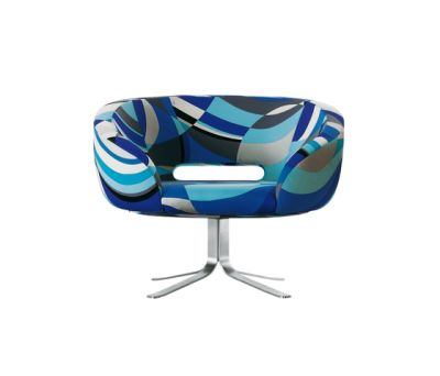 Rive Droite swivel armchair by Cappellini