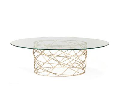 Rosebush   Oval Dining Table by GINGER&JAGGER