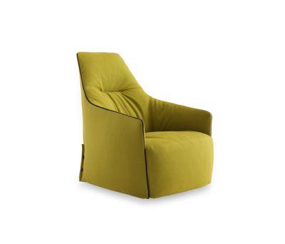 Santa Monica Lounge armchair by Poliform