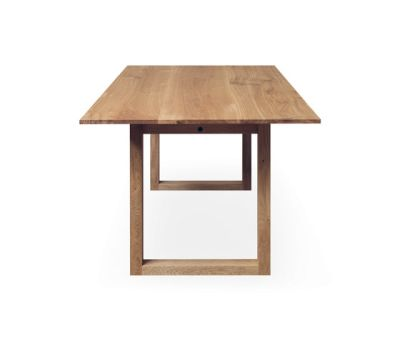 SC 25 Table | Wood with wood legs by Janua / Christian Seisenberger
