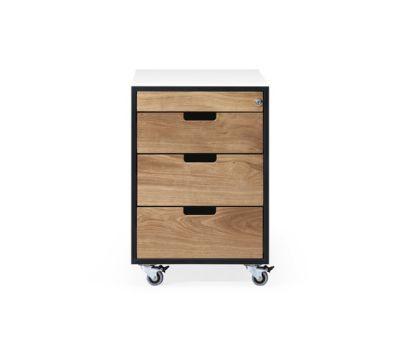 SC 30 Wheeled drawer   HPL   HPL-Wood by Janua / Christian Seisenberger