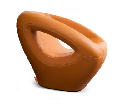 Seaser Leather, lounge chair by Lonc