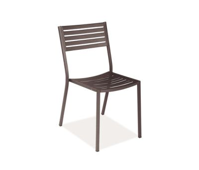 Segno Chair - Set of 4 Indian Brown