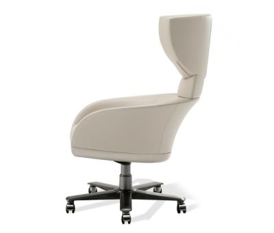 Selectus Swivel Wing Chair by Giorgetti