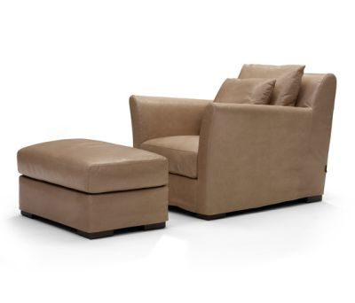 Sergio armchair/footstool by Linteloo