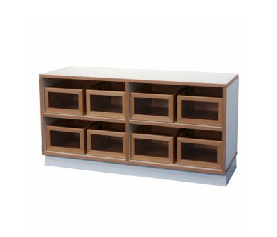 Shelf Unit DBF-602-2-10 by De Breuyn