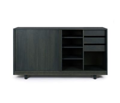 Sideboard with sliding doors by Bautier