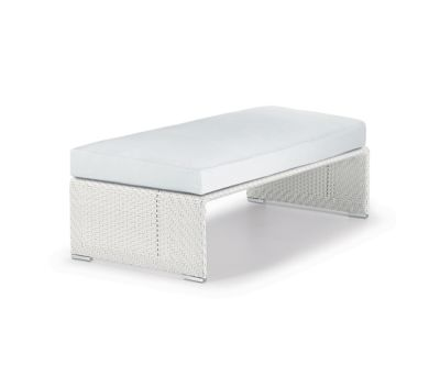 Slim Line Footstool by DEDON