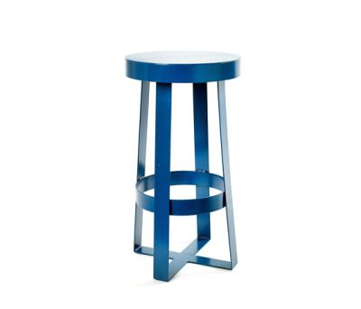 Snello Stool blue by Serax