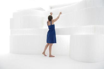 softblock | white textile by molo