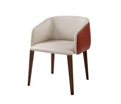 Sofy Bi-Material armchair by Frag