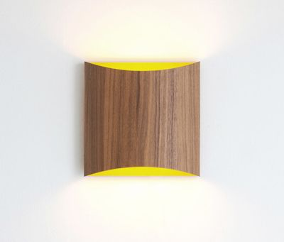 Sophie wall walnut yellow by lasfera