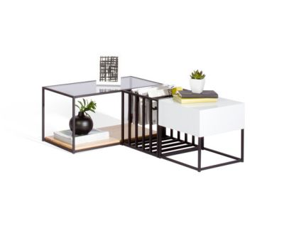 Space Frame Table Set by Sauder Boutique