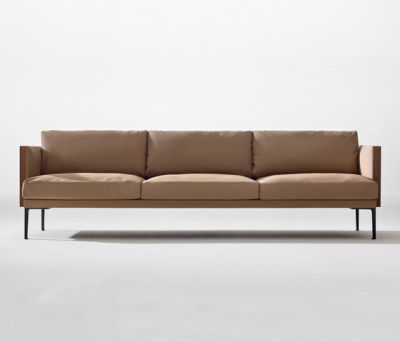 Steeve 3 seater sofa by Arper