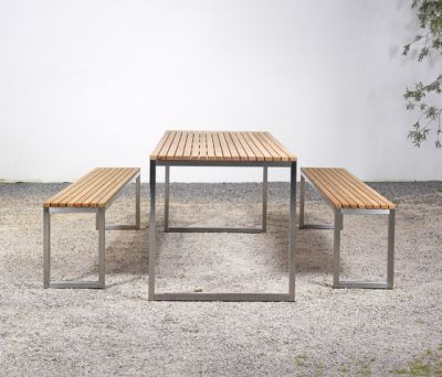 Table and Bench at_06 by Silvio Rohrmoser