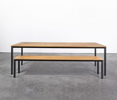 Table and Bench at_11 by Silvio Rohrmoser
