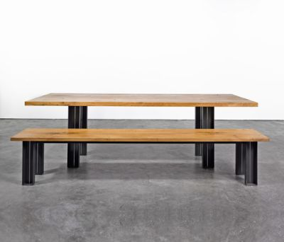 Table and Bench at_12 by Silvio Rohrmoser