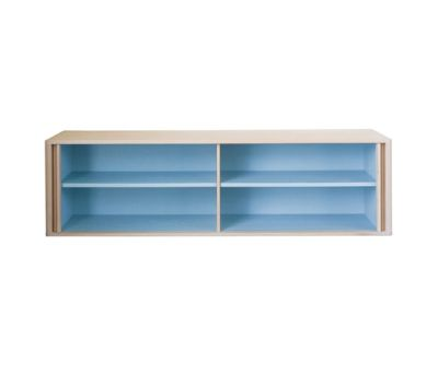 Tambour Wall Hung Credenza by BassamFellows