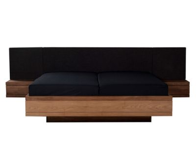 Teak Burger bed head 180 x 6 x 53 cm