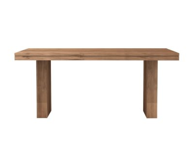 Teak Double dining table 180 180 x 90 x 78 cm