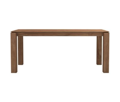 Teak Slice dining table 180 x 90 x 77 cm