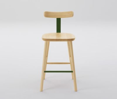 T&O T2 Bar Stool Mid by MARUNI