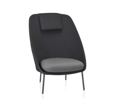 Twins High armchair Batyline Senso by Expormim