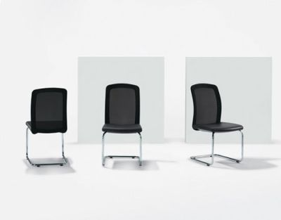 TWIST Cantilever chair by Girsberger