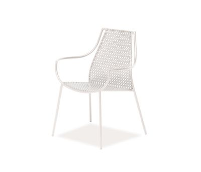 Vera armchair - set of 4 Glossy White