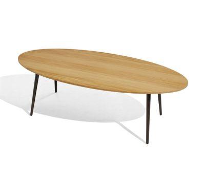Vint low table 130x60 iroko by Bivaq