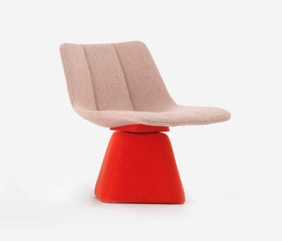 Volley Chair with Swivel Base by Resident