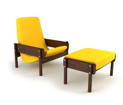 Vronka Armchair with Ottoman by Espasso