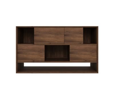 Walnut Nordic Low rack