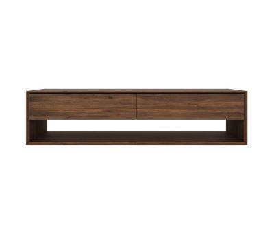 Walnut Nordic TV cupboard 180 x 46 x 45 cm