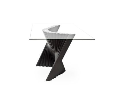 Wave End Table by Kenneth Cobonpue
