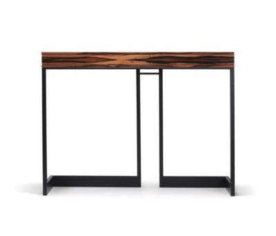 wishbone 2-drawer high table by Skram