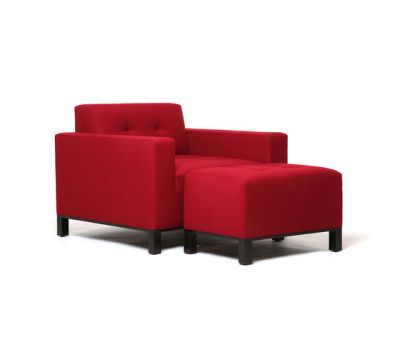 Wooster Chair | Wooster Ottoman by Naula
