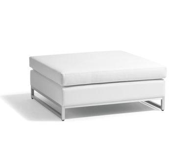Zendo medium footstool/sidetable by Manutti