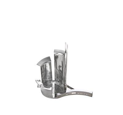 100 Piazze - Porta Nuova Tray Silver-plated Brass