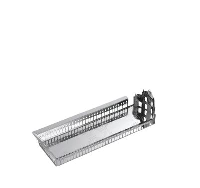 100 Piazze - Vigevano Piazza Ducale Tray Silver-plated Brass