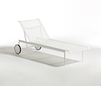 1966 Adjustable Chaise lounge White