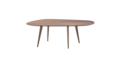 2317 Tweed Dining Table - 102 x 213 Canaletto Walnut