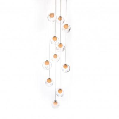 28.16 Rectangular Chandelier LED
