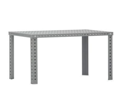 3+ Table - Rectangular Raw Material, 75 x 180 x 80 cm