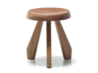 523 Méribel Stool American Walnut