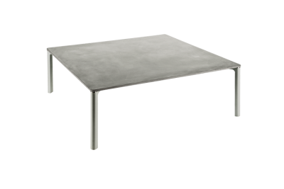 677 Spillino Coffee Table Varnished Grey, 130 x 130cm