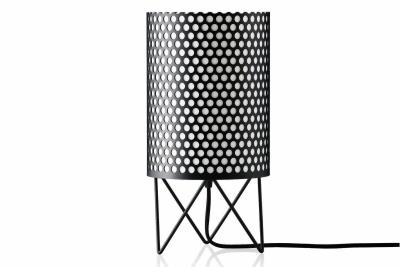 ABC Table Lamp Gubi Metal Black